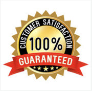 We offer a 100% Customer satisfaction guarantee